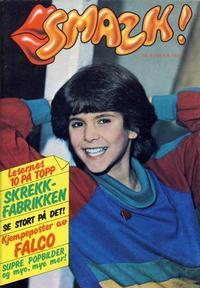 Cover for Smazk! (Serieforlaget / Se-Bladene / Stabenfeldt, 1986 series) #6/1986