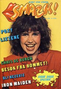 Cover Thumbnail for Smazk! (Serieforlaget / Se-Bladene / Stabenfeldt, 1986 series) #1/1987