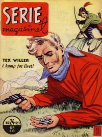 Cover Thumbnail for Seriemagasinet (Serieforlaget / Se-Bladene / Stabenfeldt, 1951 series) #24/1953