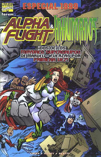 Cover Thumbnail for Alpha Flight / Inhumanos Especial 1999 (Planeta DeAgostini, 1999 series)