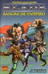 Cover Thumbnail for Blade: Sangre De Vampiro (Planeta DeAgostini, 1998 series)