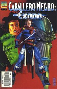 Cover Thumbnail for Caballero Negro: Éxodo (Planeta DeAgostini, 1997 series)