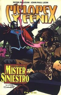 Cover Thumbnail for Cíclope y Fénix: El Origen De Mr. Siniestro (Planeta DeAgostini, 1997 series)