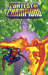 Cover Thumbnail for Contest of Champions: Combate Final (Planeta DeAgostini, 2000 series)