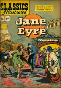 Cover for Classics Illustrated (Gilberton, 1947 series) #39 [HRN 60] - Jane Eyre
