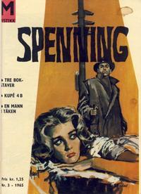 Cover Thumbnail for Spenning (Serieforlaget / Se-Bladene / Stabenfeldt, 1965 series) #3/1965