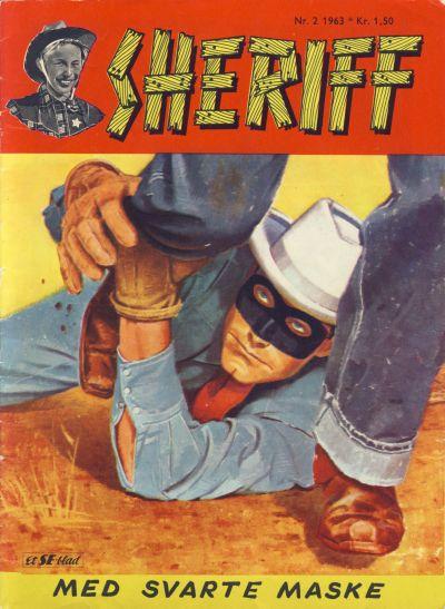 Cover for Sheriff (Serieforlaget / Se-Bladene / Stabenfeldt, 1959 series) #2/1963
