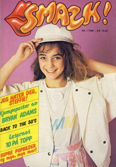 Cover for Smazk! (Serieforlaget / Se-Bladene / Stabenfeldt, 1986 series) #1/1986