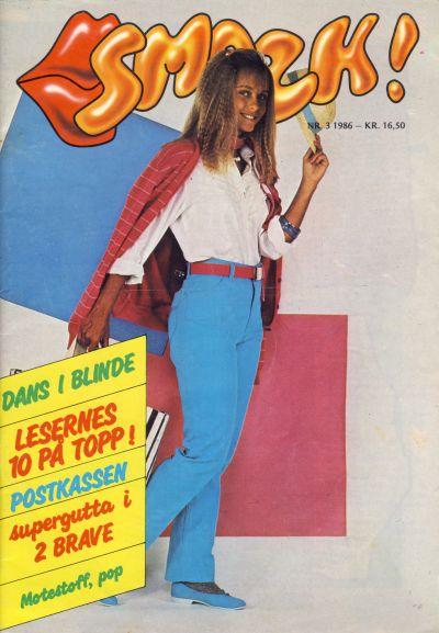Cover for Smazk! (Serieforlaget / Se-Bladene / Stabenfeldt, 1986 series) #3/1986