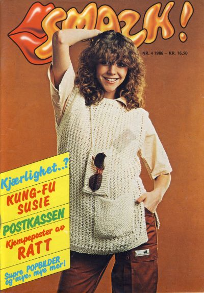 Cover for Smazk! (Serieforlaget / Se-Bladene / Stabenfeldt, 1986 series) #4/1986