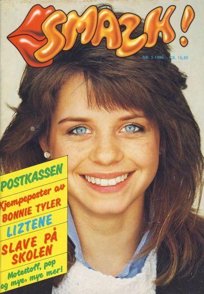 Cover for Smazk! (Serieforlaget / Se-Bladene / Stabenfeldt, 1986 series) #5/1986