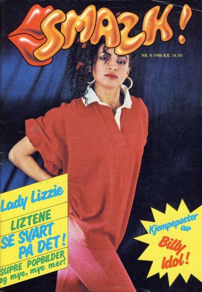 Cover for Smazk! (Serieforlaget / Se-Bladene / Stabenfeldt, 1986 series) #8/1986