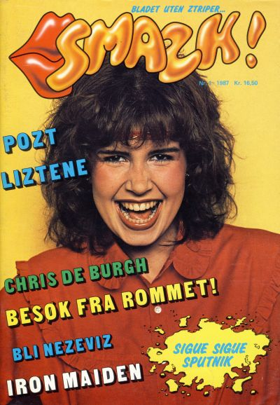 Cover for Smazk! (Serieforlaget / Se-Bladene / Stabenfeldt, 1986 series) #1/1987