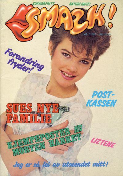 Cover for Smazk! (Serieforlaget / Se-Bladene / Stabenfeldt, 1986 series) #2/1987