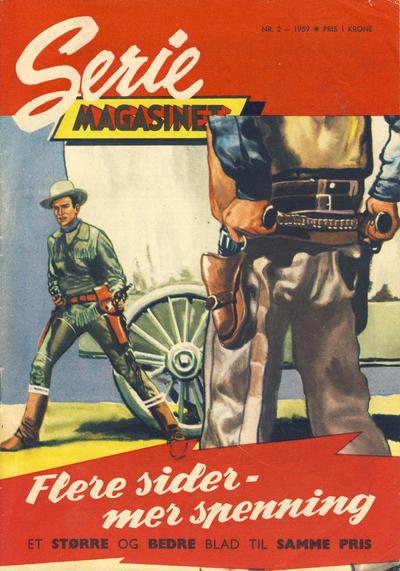 Cover for Seriemagasinet (Serieforlaget / Se-Bladene / Stabenfeldt, 1951 series) #2/1959