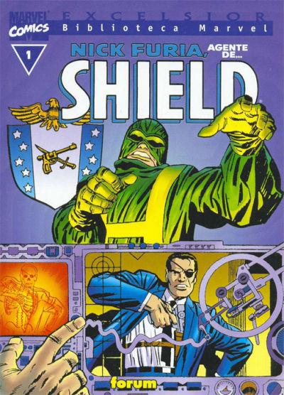 Cover for Biblioteca Marvel: Nick Furia (Planeta DeAgostini, 2000 series)