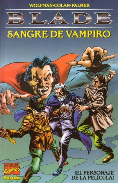 Cover for Blade: Sangre De Vampiro (Planeta DeAgostini, 1998 series)