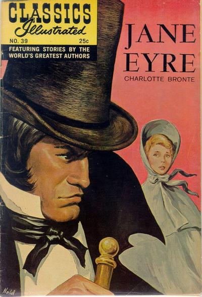 Cover for Classics Illustrated (Gilberton, 1947 series) #39 [HRN 165] - Jane Eyre