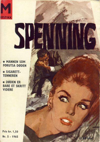 Cover for Spenning (Serieforlaget / Se-Bladene / Stabenfeldt, 1965 series) #5/1965