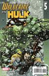 Cover for Ultimate Wolverine vs. Hulk (Marvel, 2006 series) #5 [Second Printing]