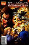 Cover for Battlestar Galactica: Cylon War (Dynamite Entertainment, 2009 series) #1