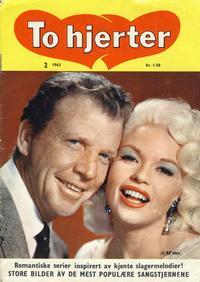 Cover Thumbnail for To hjerter (Serieforlaget / Se-Bladene / Stabenfeldt, 1961 series) #2/1963