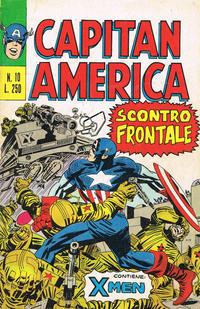 Cover Thumbnail for Capitan America (Editoriale Corno, 1973 series) #10