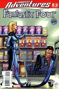 Cover Thumbnail for Marvel Adventures Fantastic Four (Marvel, 2005 series) #40