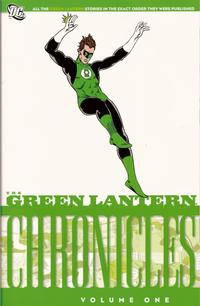Cover Thumbnail for The Green Lantern Chronicles (DC, 2009 series) #1