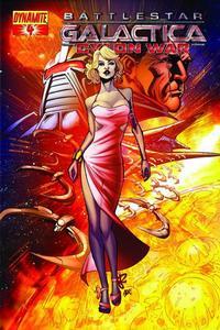 Cover Thumbnail for Battlestar Galactica: Cylon War (Dynamite Entertainment, 2009 series) #4