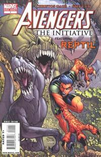 Cover Thumbnail for Avengers: The Initiative Featuring Reptil (Marvel, 2009 series) #1