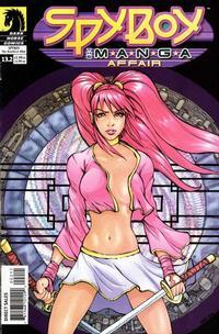 Cover Thumbnail for SpyBoy (Dark Horse, 1999 series) #13.2