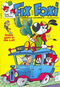 Cover Thumbnail for Fix und Foxi (Gevacur, 1966 series) #v17#18