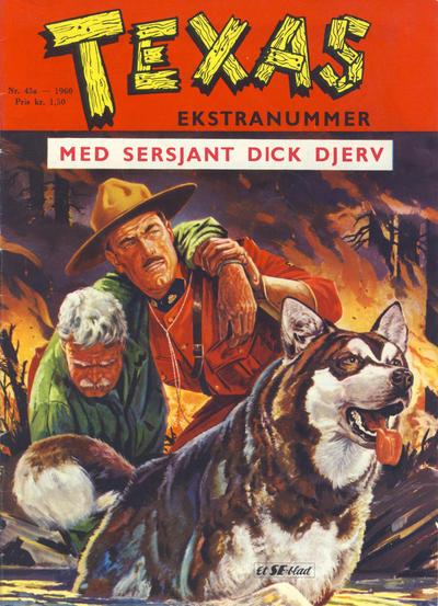 Cover for Texas Ekstranummer (Serieforlaget / Se-Bladene / Stabenfeldt, 1959 series) #45a/1960
