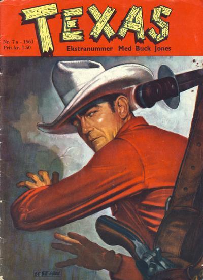Cover for Texas Ekstranummer (Serieforlaget / Se-Bladene / Stabenfeldt, 1959 series) #7a/1961