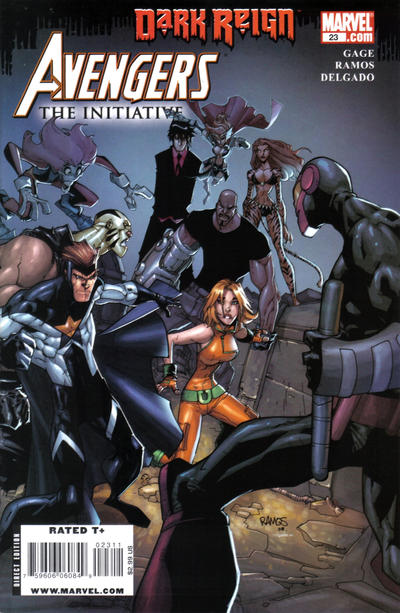 Cover for Avengers: The Initiative (Marvel, 2007 series) #23