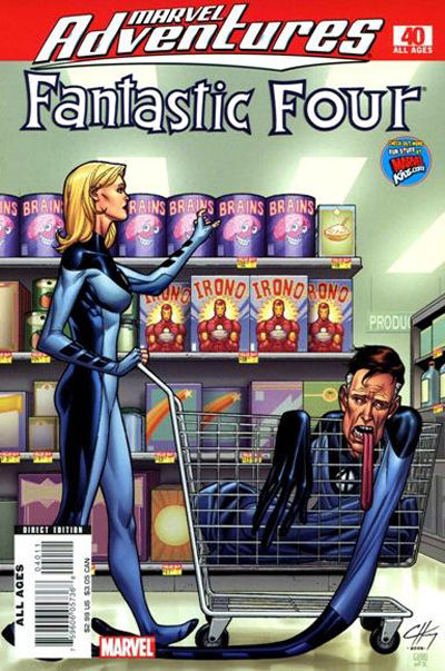 Cover for Marvel Adventures Fantastic Four (Marvel, 2005 series) #40