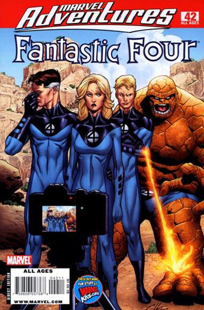 Cover for Marvel Adventures Fantastic Four (Marvel, 2005 series) #42