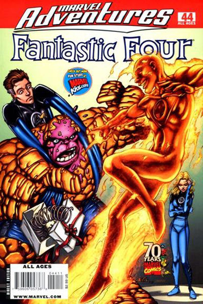 Cover for Marvel Adventures Fantastic Four (Marvel, 2005 series) #44