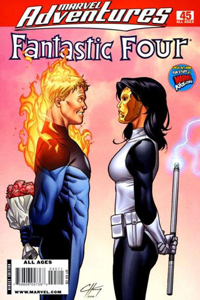Cover for Marvel Adventures Fantastic Four (Marvel, 2005 series) #45