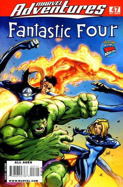 Cover for Marvel Adventures Fantastic Four (Marvel, 2005 series) #47