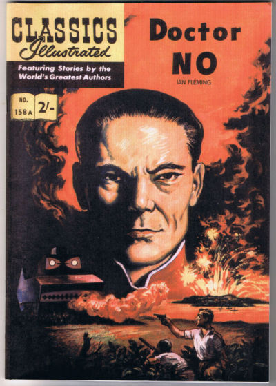 Cover for Classics Illustrated (Classic Comic Store, 2007 series) #158A