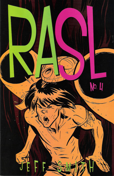Cover for RASL (Cartoon Books, 2008 series) #4