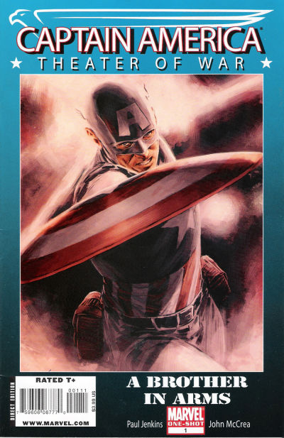 Cover for Captain America Theater of War: A Brother in Arms (Marvel, 2009 series) #1