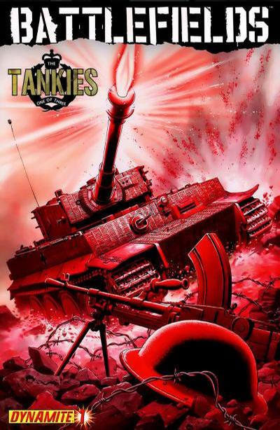 Cover for Battlefields: The Tankies (Dynamite Entertainment, 2009 series) #1 [Garry Leach Cover]