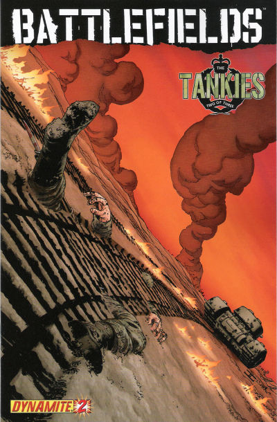 Cover for Battlefields: The Tankies (Dynamite Entertainment, 2009 series) #2