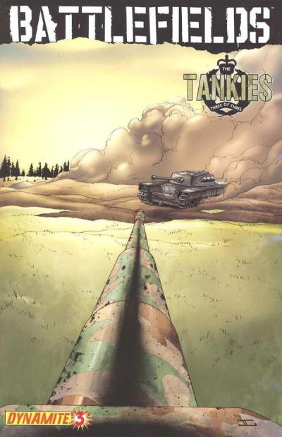 Cover for Battlefields: The Tankies (Dynamite Entertainment, 2009 series) #3