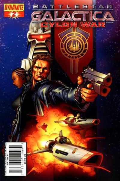 Cover for Battlestar Galactica: Cylon War (Dynamite Entertainment, 2009 series) #2 [Cover B Raynor]
