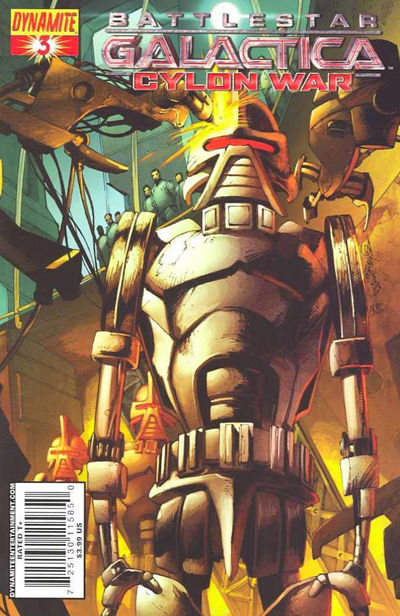 Cover for Battlestar Galactica: Cylon War (Dynamite Entertainment, 2009 series) #3