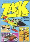 Cover for Zack (Koralle, 1972 series) #1/1973